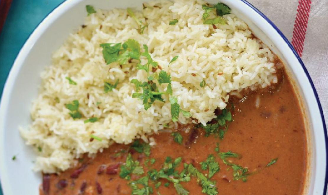 Ghee Rice+Dal Bukhara+Salad