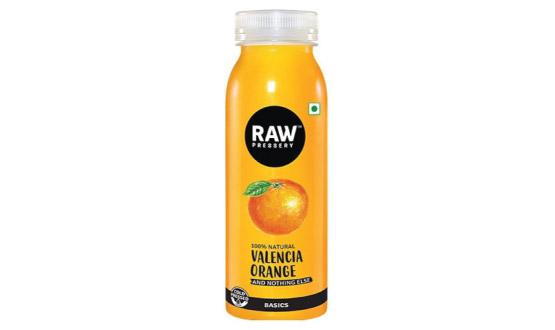 Raw Pressery Valencia Orange Juice 250ml