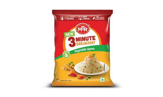 MTR 3 Minute Veggie Upma 60 g