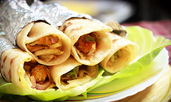 Calcutta Chicken Roll