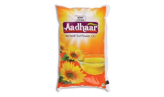 Aadhaar Sunflower Oil 1 Lit