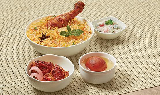 Potful Chicken Biryani Combo